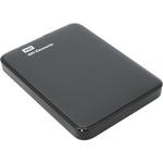 Внешний жёсткий диск WD WD Elements Portable 1 TB (WDBUZG0010BBK-WESN) цвет чёрный