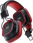 Наушники Bluetooth GAL BH-2009 black/red