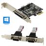 Контроллер PCI-E to COM, LPT ORIENT XWT-PE2S1PV2