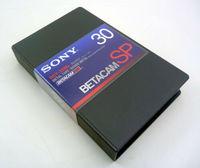 Профессиональная Кассета Betacam Sony BCT-30MA
