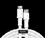 Кабель USB type C to Lightning Baseus Mini White Cable Type-C to iP PD 18W 1m White