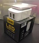 Зарядное устройство LDNIO 2 USB выхода + LED TOUCH LAMP