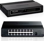 Коммутатор TP-LINK TL-SF1016D неуправляемый 16 портов 10/100Мбит/с