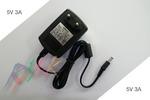 Блок питания 5v 3a (Роутеры D-Link, ASUS, DVD-плееры, сканеры, телефоны, сетевое оборудование и другое) Разъем 5.5x2.5mm