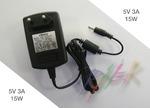 Зарядка для планшета 5V 3A (Разъем 3.5x1.35mm)