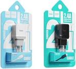 Зарядное устройство Hoco C22A 2.4 A + Lightning кабель