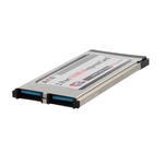 Контроллер для ноутбука ExpressCard 34 mm USB 3.0 2 port AKE (NEC UPD720202)