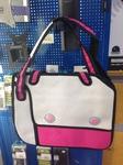 Мультяшная сумка 2D розовая 2