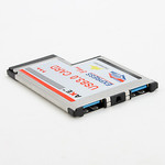Контроллер ExpressCard 54mm USB 3.0 2 port AKE (BC618T)