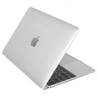 "Чехол накладка для Apple MacBook 12"" (A1534) Белый, матовый"