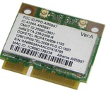 Адаптер WiFi Atheros AR5B97 (Mini PCI-E half-size, B/G/N, 300 Mbit/s, 2.4 Ghz)