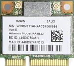 Адаптер WiFi Atheros AR5B22 (Mini PCI-E half-size, B/G/N, 300 Mbit/s, 2.4/5 Ghz)