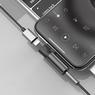 Переходник Lightning to jack 3.5mm AUX Baseus L43 с зарядкой
