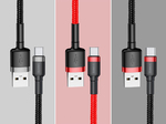 Кабель Baseus Cafule USB-C to USB-A