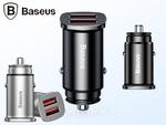 Автомобильная зарядка Baseus Dual QC3.0 30W Max Car Charger