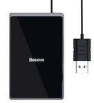 Ультратонка беспроводная зарядка Baseus Card Ultra-thin