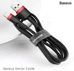 Кабель Baseus Kevlar Lightning Cable 1 метр