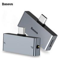 Переходник Baseus Type-C Male to C & 3.5mm Female Adapter L57 (CATL57-0A)