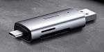 Универсальный картридер Baseus Lentil - Cabin (USB 3.0, USB Type-C, MicroSD, SD)