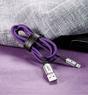 Кабель Baseus X-Shaped Light Cable Lightning для iPhone, iPad с индикатором зарядки