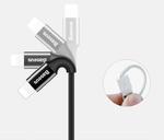 Кабель Lightning для iPhone, iPad, iPod Baseus Mirror Metal