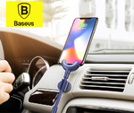 Автомобильный держатель с зарядкой Baseus O-type Car Mount Cable для iPhone