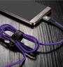 Кабель Baseus X-Shaped Light Cable USB type C с индикатором зарядки