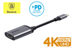 Переходник USB-C to HDMI 4K@60Hz Baseus Enjoyment Series + PD