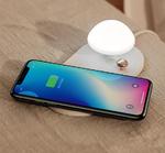 Беспроводная зарядка с настольной лампой Baseus Mushroom Lamp Desktop Wireless Charger