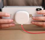 Беспроводная зарядка Baseus Suction Cup Wireless Charger