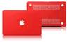 """Чехол накладка для Apple MacBook Pro Retina 15"""" (A1398) Красный, матовый"""