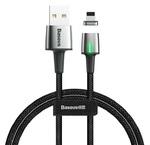 Кабель магнитный Baseus Zinc Magnetic Cable Lightning для iPhone, iPad