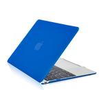 """Чехол накладка для Apple MacBook 12"""" (A1534) Синий, матовый"""