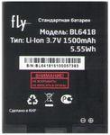 Аккумулятор BL6418 для Fly FS403 Cumulus 1, FS404 Stratus 3 (1500 mAh)