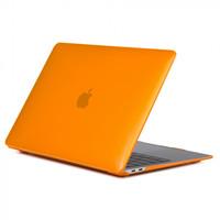 """Чехол накладка для Apple MacBook Air 13"""" 2018 (A1932) Оранжевый, глянцевый"""