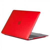 "Чехол накладка для Apple MacBook Air 13"" 2018 (A1932) Красный, матовый"