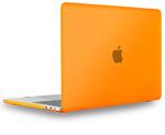 "Чехол накладка для Apple MacBook Pro 15"" TouchBar (A1707, A1990) Оранжевый, Матовый 2016, 2017, 2018, 2019"