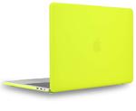 "Чехол накладка для Apple MacBook Pro 15"" TouchBar (A1707, A1990) Желтый, Матовый 2016, 2017, 2018, 2019"