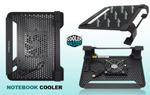 """Охлаждающая подставка для ноутбука Cooler Master U1 Fan Edition (для 10"""", 11.6"""", 12"""", 12.5"""", 13"""", 13.3"""", 14"""") Black (Чёрный)"""