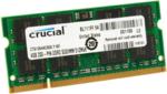 Оперативная память DDR2 4Gb 667 Mhz Crucial PC2-5300 So-Dimm для ноутбука