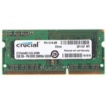 Оперативная память DDR3 2Gb 1333 Mhz Crucial PC3-10600 So-Dimm для ноутбука