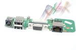 Плата питания для ноутбука Dell Inspiron 1545 с портами USB, VGA 48.4AQ03.C11
