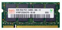 Оперативная память DDR2 2Gb 800 Mhz Hynix PC2-6400 SO-DIMM для ноутбука