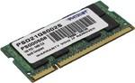 Оперативная память DDR2 1Gb 800 Mhz Patriot So-Dimm для ноутбука
