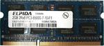 Оперативная память DDR3 4Gb 1066 Mhz Elpida PC3-8500 So-Dimm для ноутбука