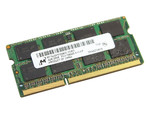 Оперативная память DDR3 4Gb 1333 Mhz Micron So-Dimm PC3-10600 для ноутбука