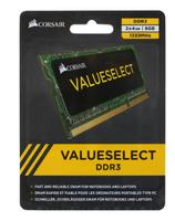 Оперативная память DDR3 8Gb (2x4Gb) 1333 Mhz Corsair VALUESELECT PC3-10600 So-Dimm для ноутбуков