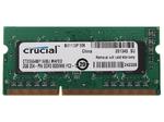 Оперативная память DDR3L 2Gb 1600 Mhz Crucial So-Dimm PC3L-12800 для ноутбука