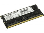 Оперативная память DDR3L 8Gb 1600 Mhz AMD So-Dimm PC3L-12800 для ноутбука