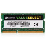Оперативная память DDR3L 8Gb 1600 Mhz Corsair So-Dimm PC3L-12800 для ноутбука